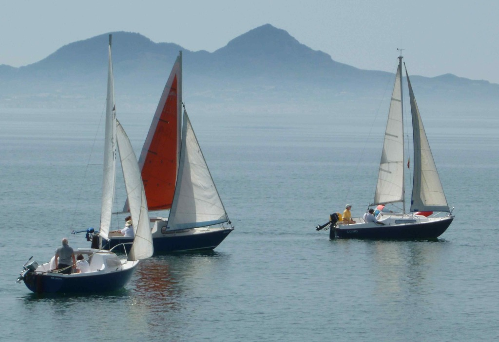 The three Balaton Boats